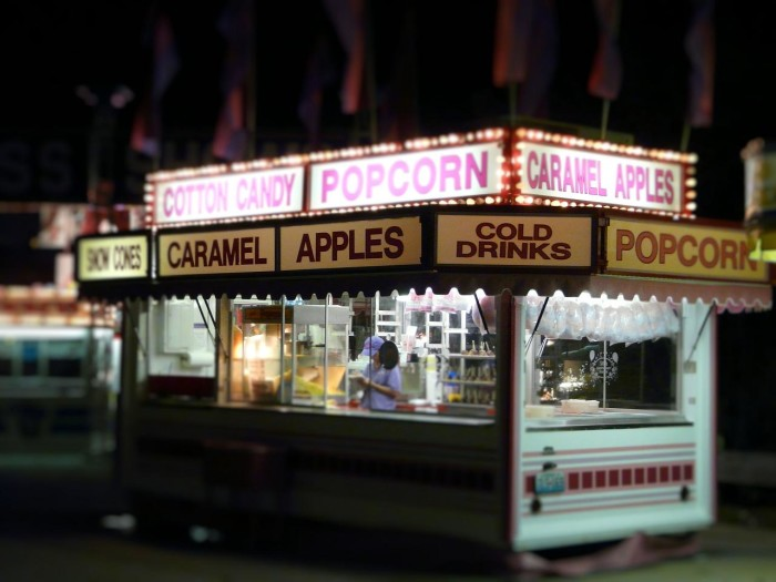 10. Being on a diet during the Nebraska State Fair...