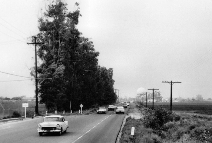 7. On the border between Garden Grove  and Cypress on Knott Ave in 1962.