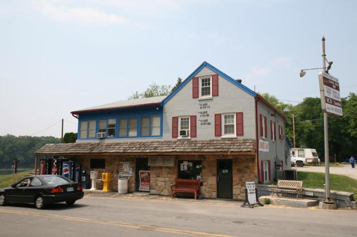 9. White's Ferry Store, Dickerson