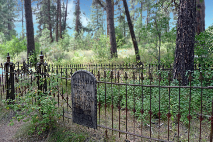 11. Abandoned cemeteries are both remarkable and heartbreaking to see, but Boot Hill Cemetery in Idaho City is especially intriguing.