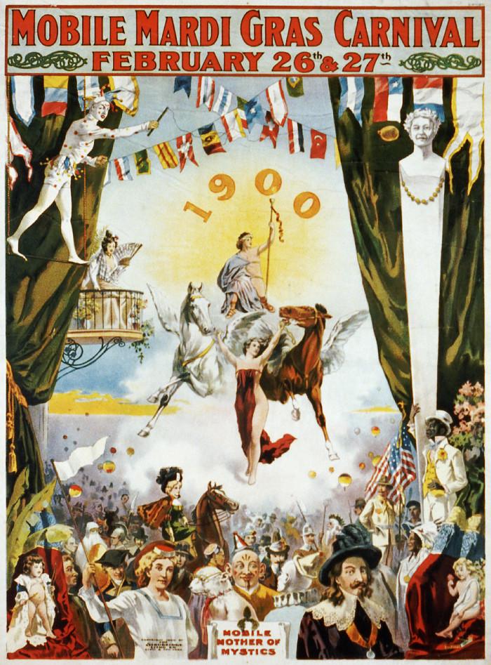 7. Mobile Mardi Gras Carnival - Mobile, AL