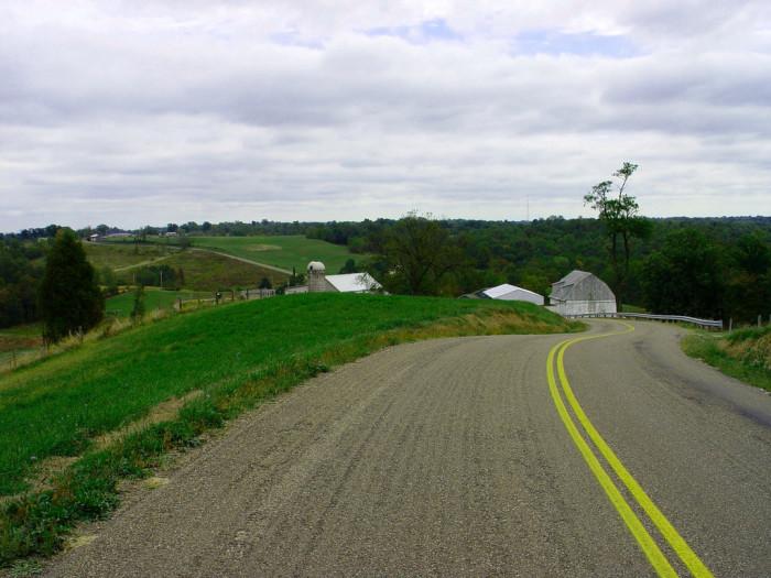 12. Backroads near Churchtown, OH