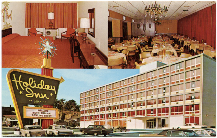8. Holiday Inn located in Fort Lee circa the 1960s.
