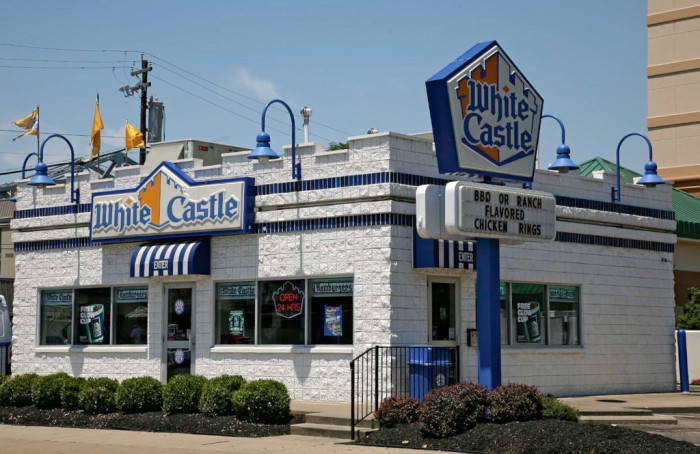 5. Dining on White Castle...