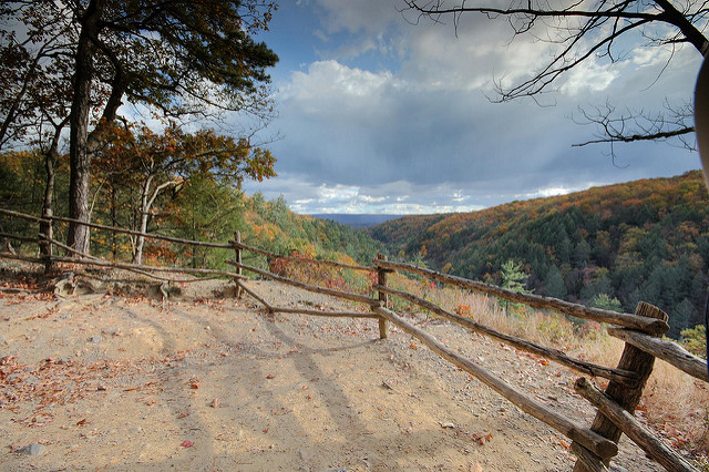 As you hike through the area, you will be treated to spectacular views of Delaware Valley such as this.