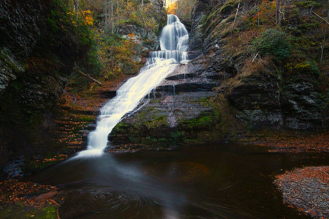 There are some other falls in the area to visit, also, such as Dingmans Falls...