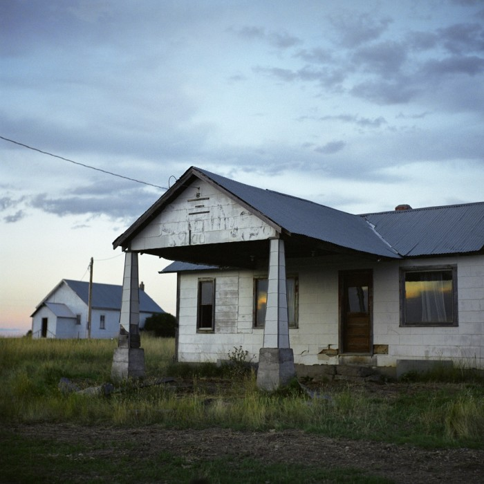 3. Abandoned house on Highway 14 near Devils Tower.