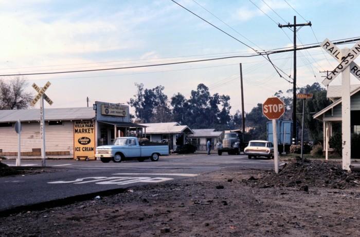 6. Bruno's Market in Villa Park in Orange County as captured in 1965.