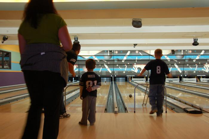 13. Candlepin bowling.