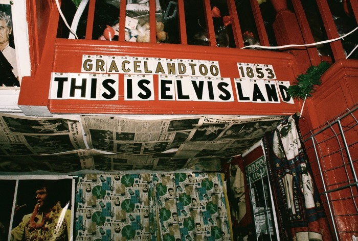 2. Celebrating the King at Graceland Too.