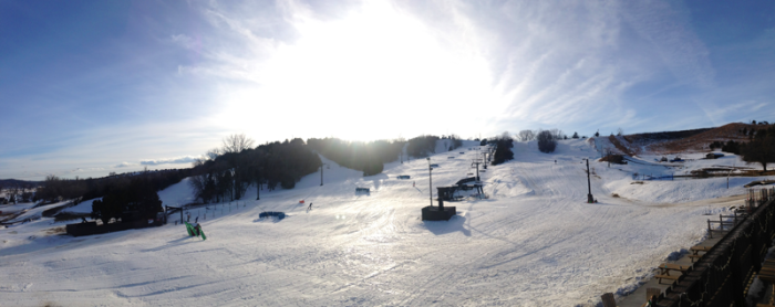 2. Mt. Crescent Ski Area, Honey Creek