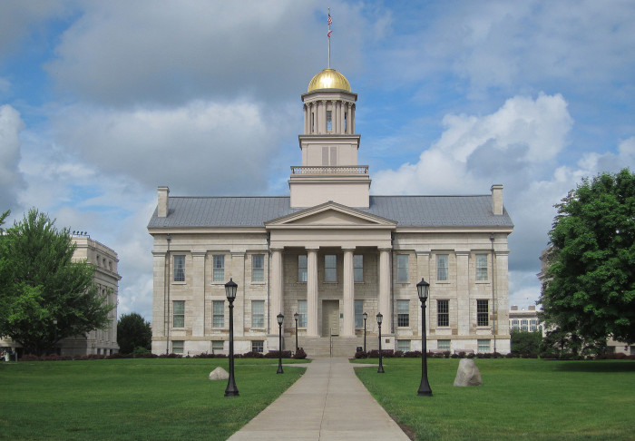 2. The Old Capitol Building, Iowa City