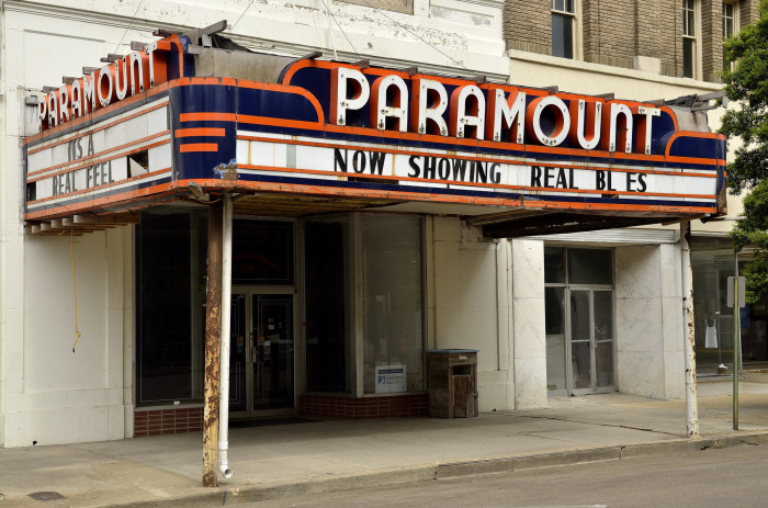 3. Catching a show at the Paramount Theatre.