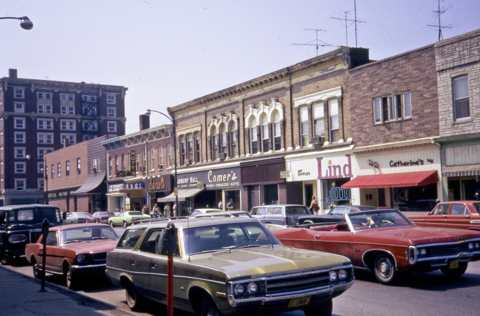 3. This photo shows a much different looking Dubuque Street in Iowa City during 1975.