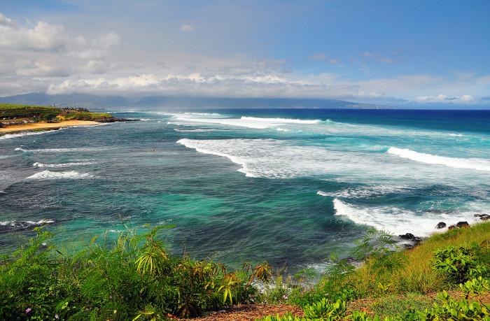 3) Ho'okipa Beach, Maui