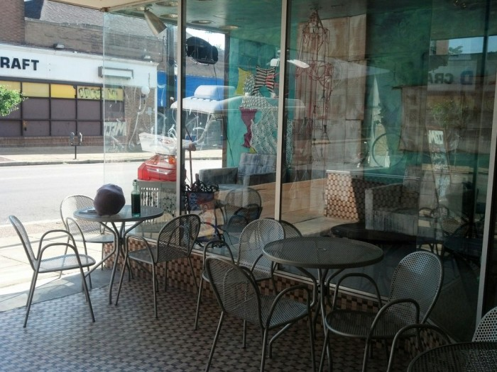 3. Outdoor seating, Melt, St. Louis