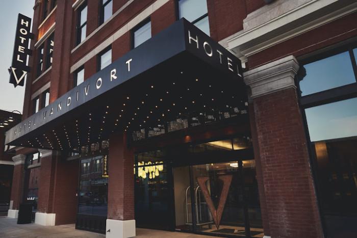 3.Hotel Vandivort, Springfield