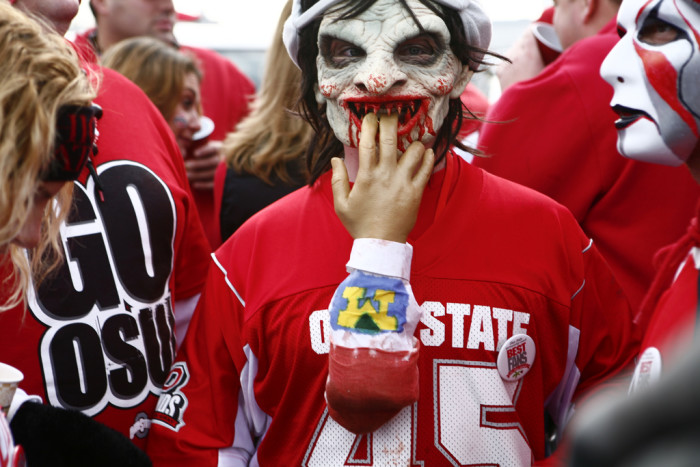 6. You know (all too well) the reality of the Ohio State/Michigan rivalry that can tear family and friends apart.