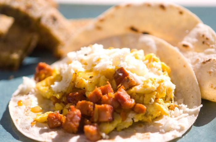 12. Breakfast tacos