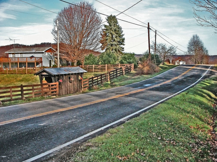 16. Ohio Route 348 in Adams County