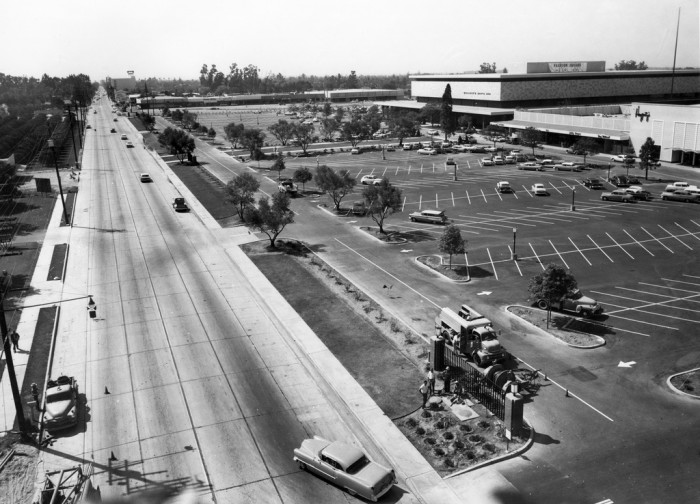 9. Fashion Square in Santa Ana in the 1960s long before it became what is now Mainplace Mall.
