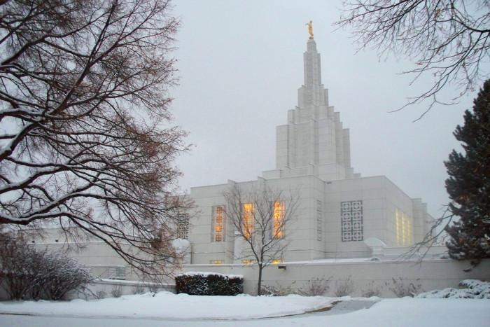 14. LDS Temple, Idaho Falls