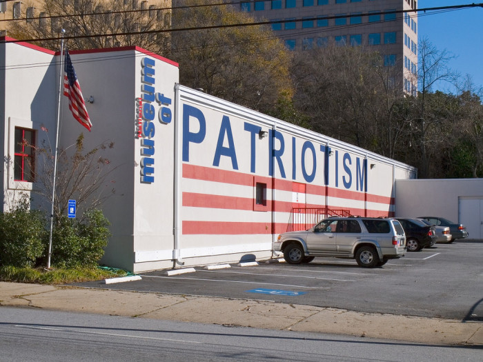 1. There once was a National Museum of Patriotism.
