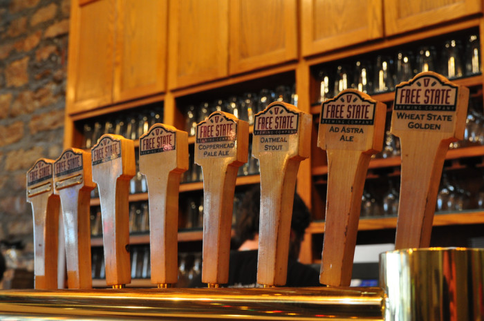2. The locally brewed beer (and locally grown wines) aren't too shabby, either.