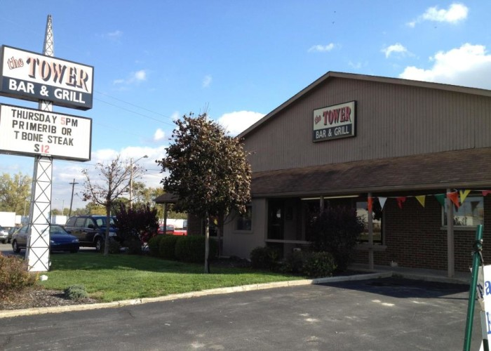 5. Tower Bar and Grill (Fort Wayne)
