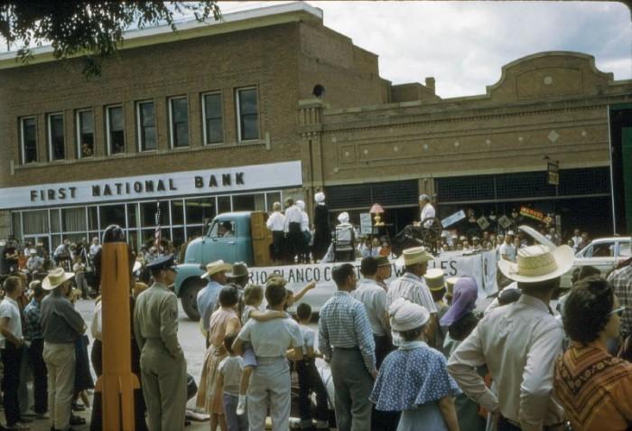 "4. ""Meeker, Colorado 4th of July parade."" (1961)"