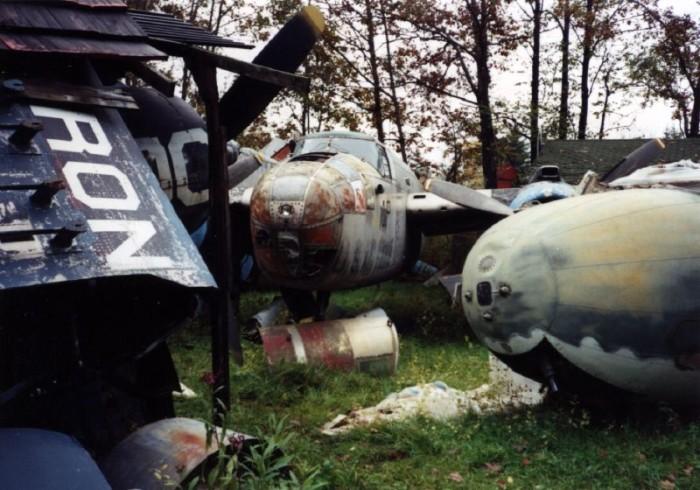 4. Airplane Boneyard (Newbury)