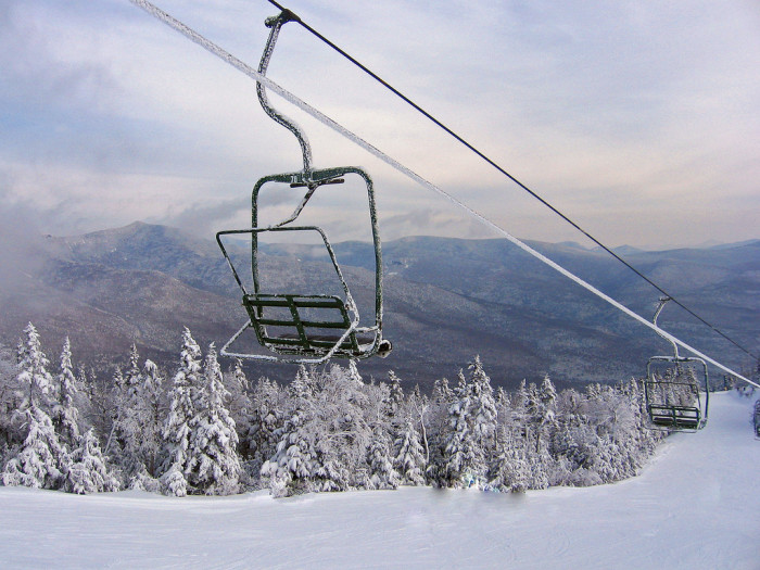 1. An icy day on the slopes.