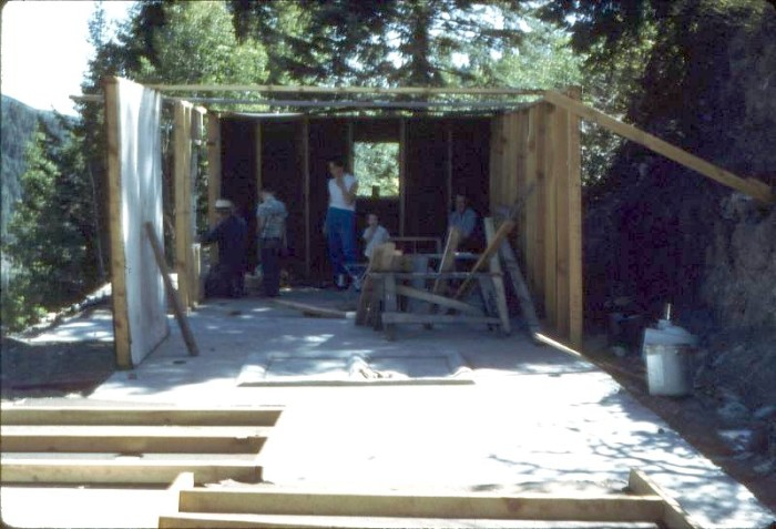 """17. """"Building cabins up Rifle Creek."""" (1958)"""