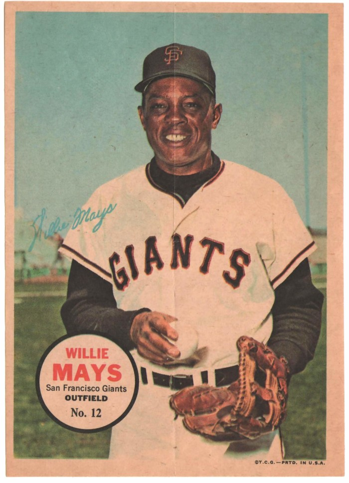 Willie Mays, are from Alabama.
