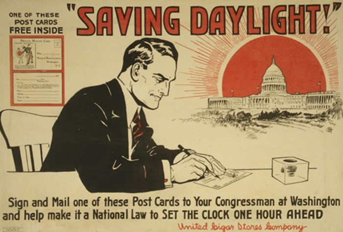 8. We don't have to worry about time change since the state doesn't honor Daylight Savings Time.