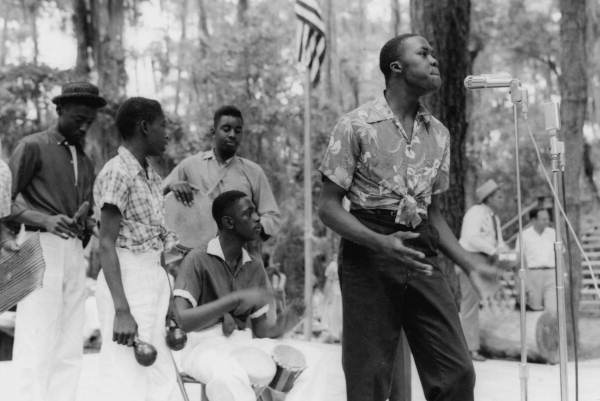 29. Students from New Douglas High School in Live Oak performing: White Springs, May 1958