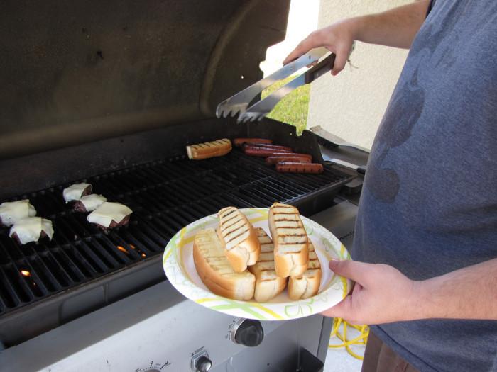 9. New England-style hot dog buns