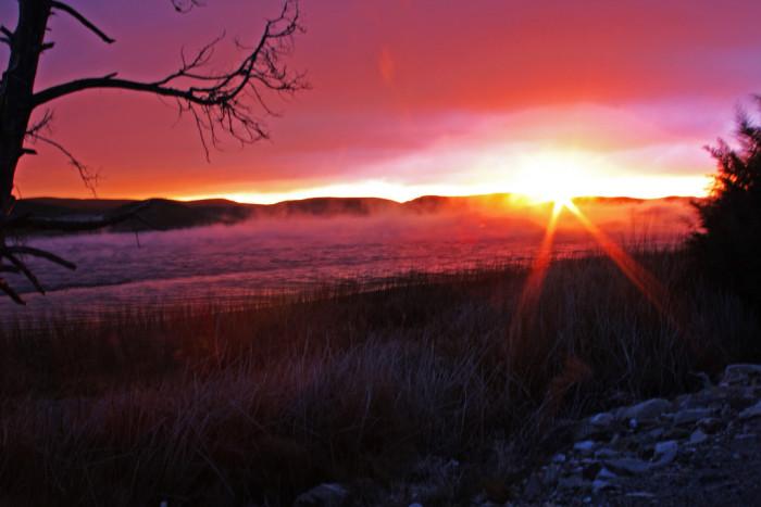 1. Sunrise on Quail Lake