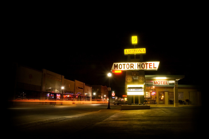 16. Driving along the main street of any Arizona small town can look like the setting for a modern drama...