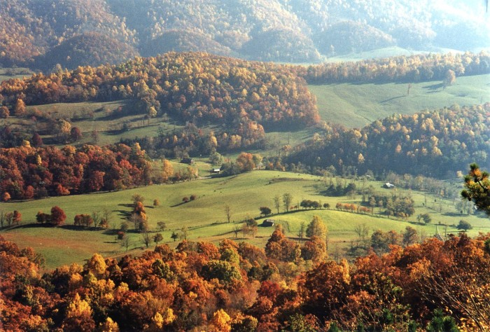 6. Virginia's countryside in the fall