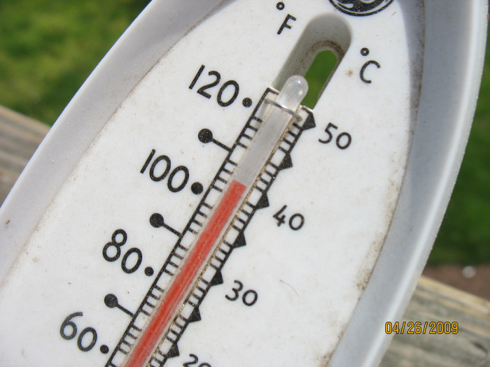 10. Seeing a high forecast of 105-degrees in southern Arizona in July is considered a cooler day.