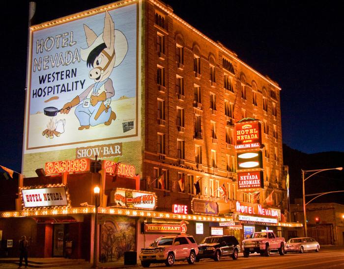 2. Hotel Nevada and Gambling Hall