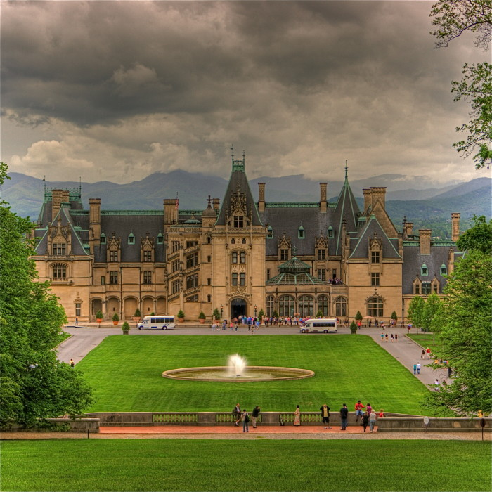 13. Feeling like royalty at America's Castle, the Biltmore Estate.
