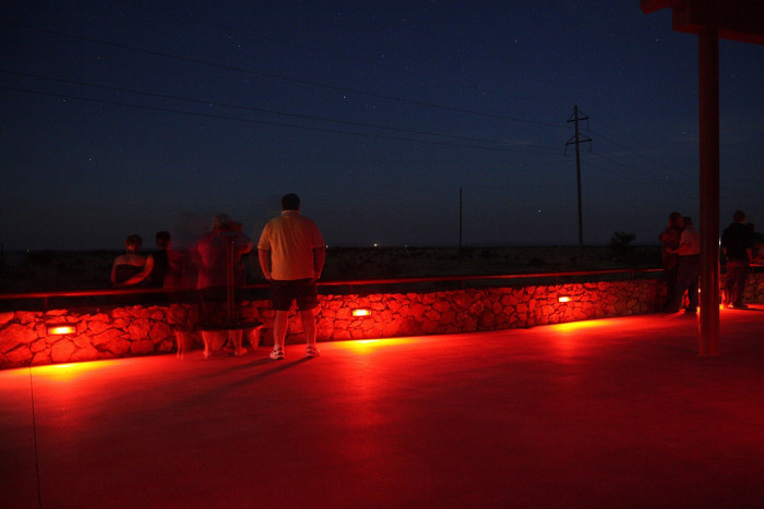 8. Go marvel at the mysterious Marfa lights
