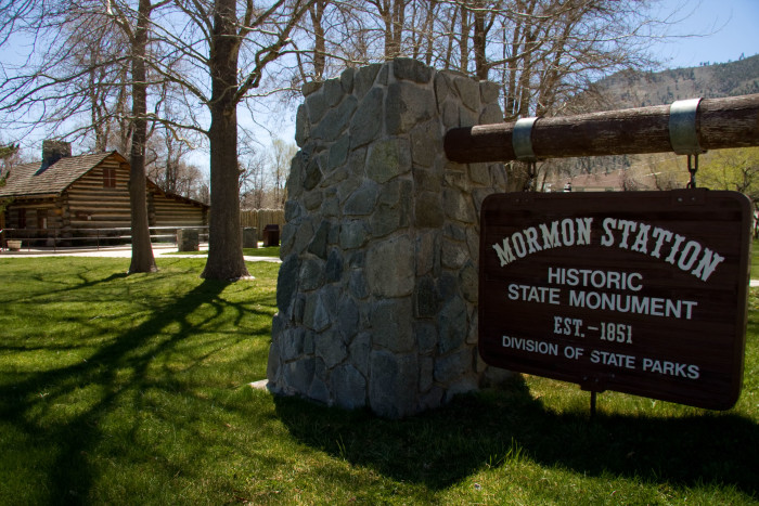 3. Mormon Station State Historic Park - Genoa
