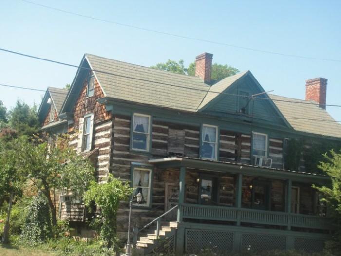 12. 1776 Log House