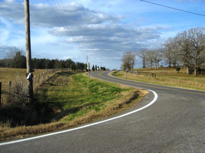 9. Take a long scenic drive through Alabama's countryside.