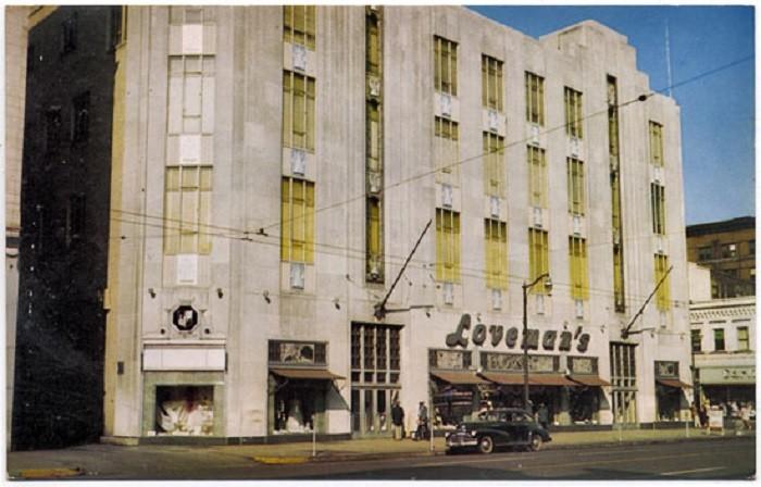 2. Loveman's Department Store in Birmingham, Alabama. Photo taken in 1950.