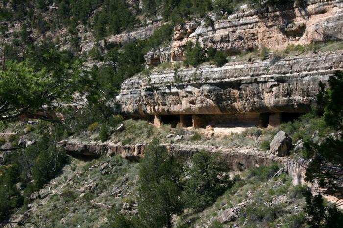 10. Walnut Canyon Ruins