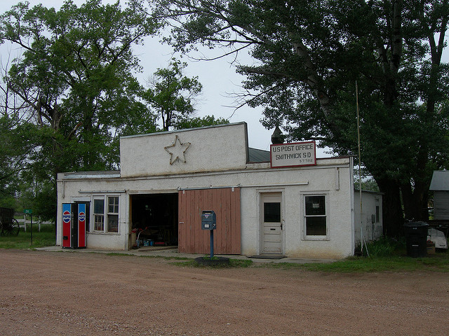 General Store with a Post Office addition in Smithwick, South Dakota.